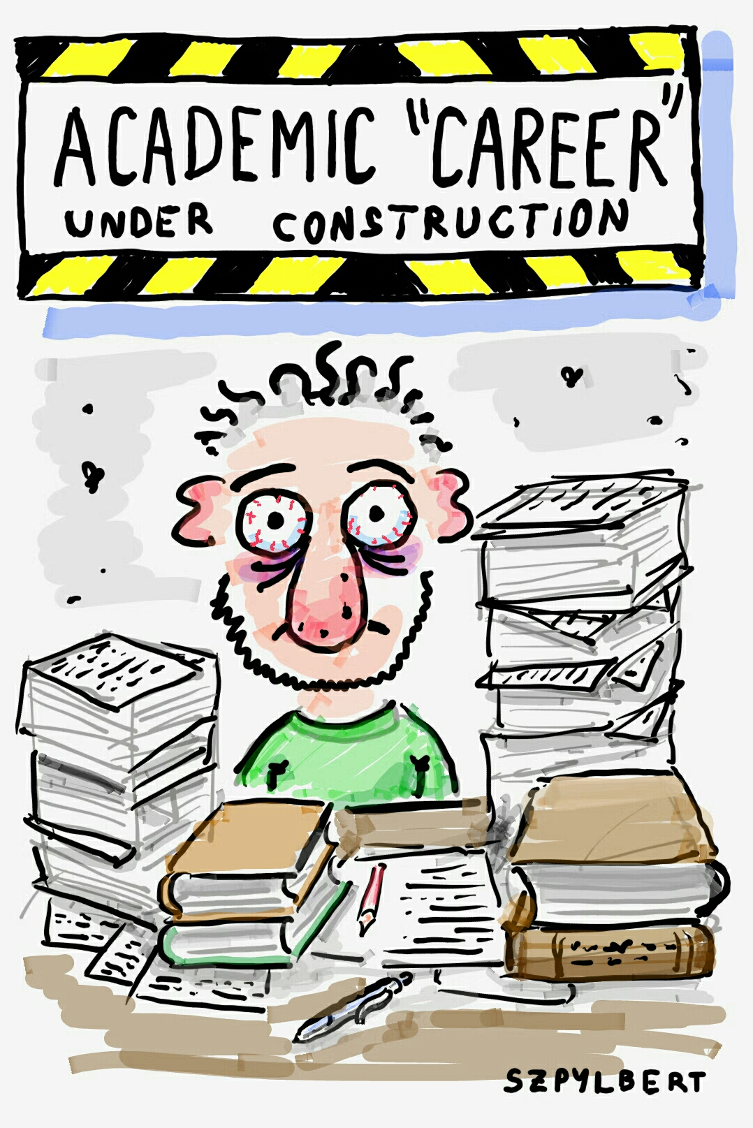 Academic Career Szpylbert S Cartoon Blog
