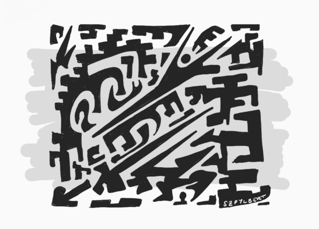 Szpylbert Abstract Scribble